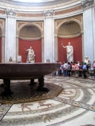 The Vatican museum has a HUGE collection of ancient Greek and Roman antiquities