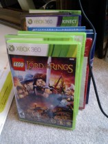 Stack of Christmas video games begging to be played!