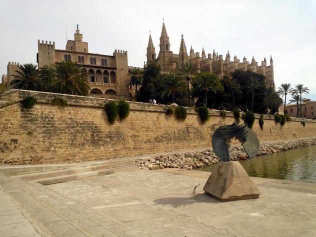 Palma palace and cathedral