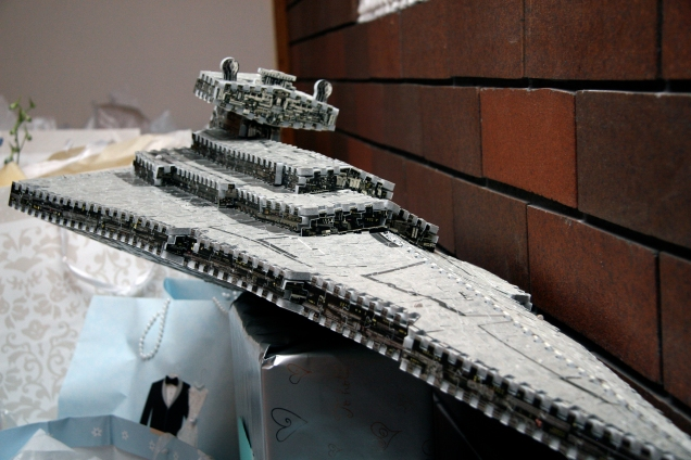 Congrats! Here's a Star Destroyer!