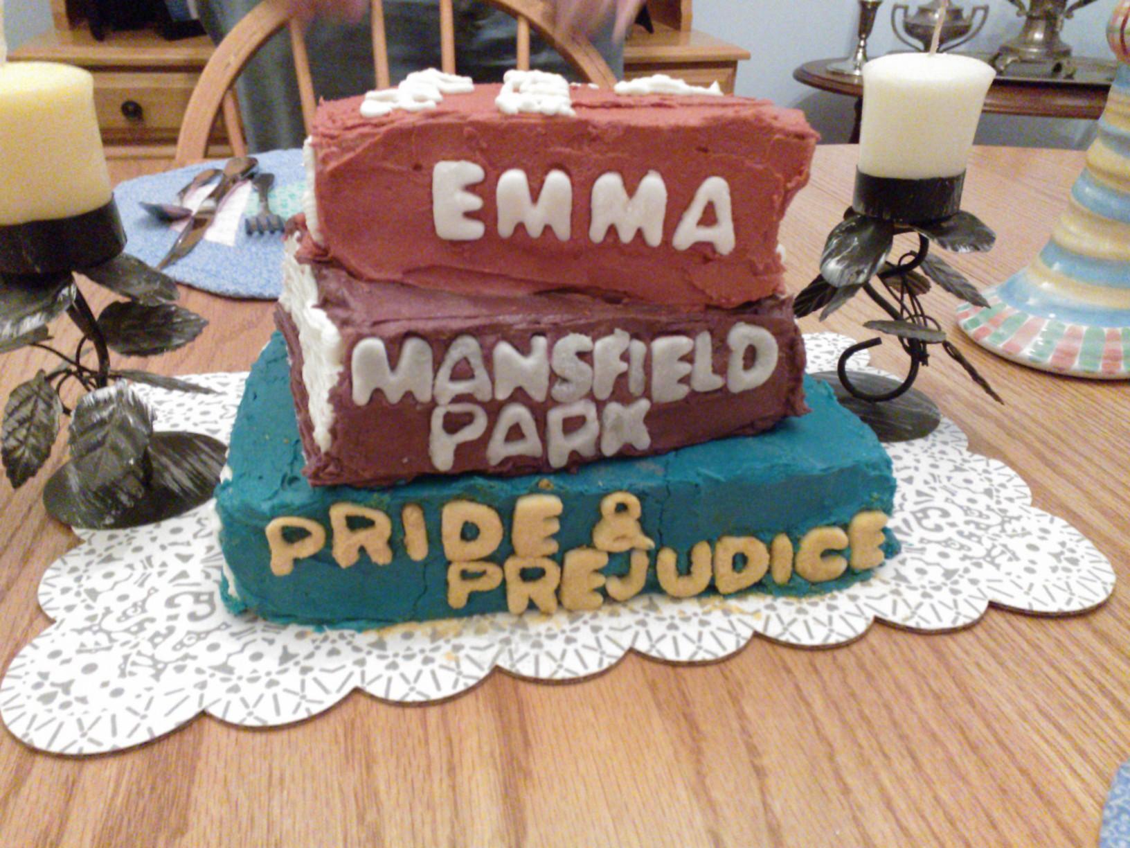 Resultado de imagen de emma jane austen cake