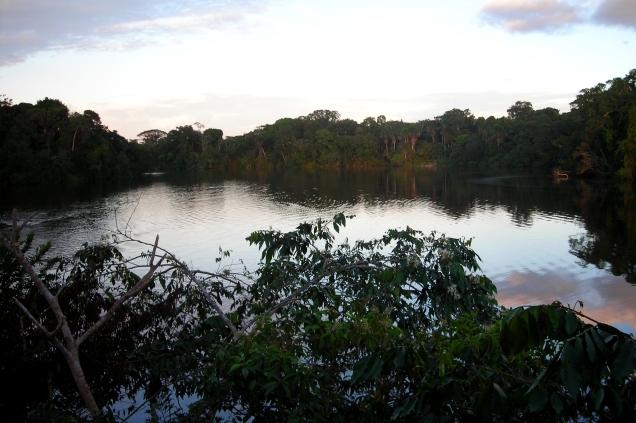 Garzcocha Lagoon