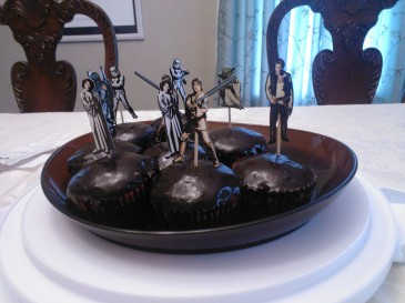 Come to the dark side...we have cupcakes.