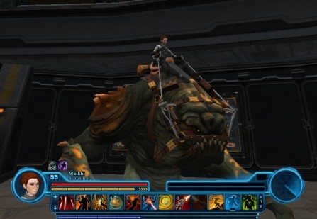 Rancor mount