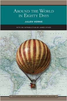 There is no hot air balloon in Around the World in Eighty Days (4/5)