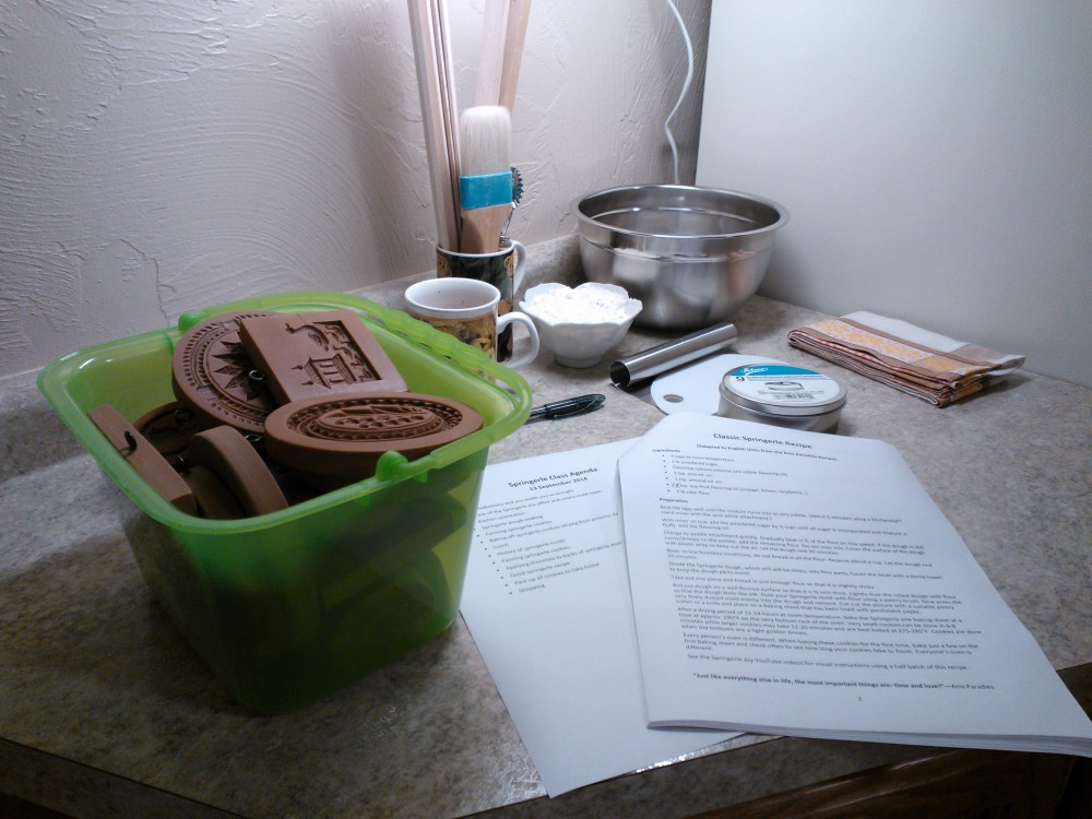 Learning to Make Springerle Cookies (2/6)
