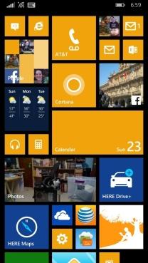 My home screen