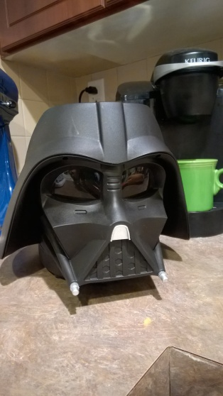 Darth Vader takes over my counter