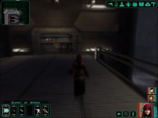 Visas is useful because she can use Burst of Speed to run around faster, and is slightly less annoying than Kreia.