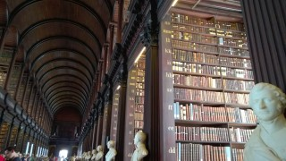 Library at Trinity College