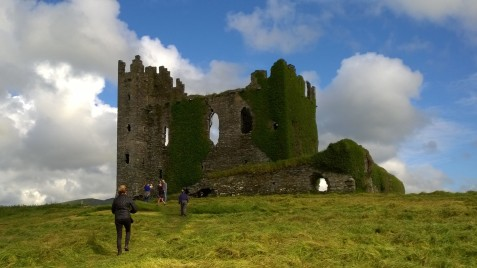 16th century castle ruins