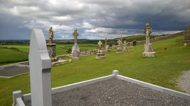 Cemetery at the Rock of Cashel
