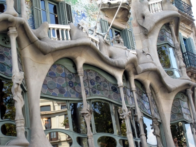 Casa Batlló close up