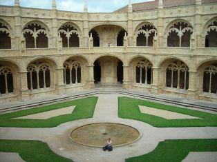 Cloisters of Jerónimos Monastery, Lisboa