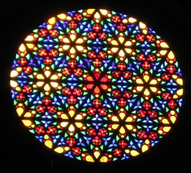 Palma rose window